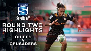 ROUND TWO HIGHLIGHTS | Chiefs v Crusaders – 2020