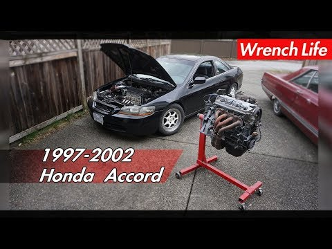 HOW TO: H22 Swap guide for   HONDA ACCORDS
