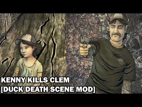 Kenny Kills Clementine [Duck Death Scene Mod] |