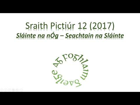Sraith Pictiúr 12 (2017) - Seachtain na Sláinte - Sláinte na nÓg
