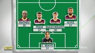 Preocupa la edad media del Barça