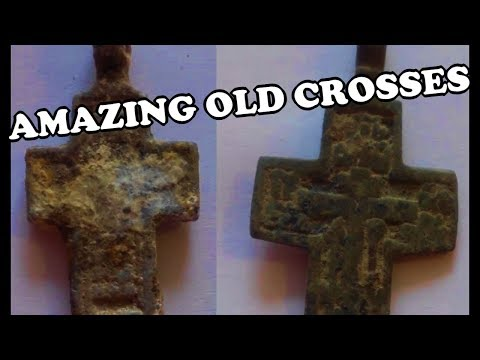 Old Christian Crosses, XVII - XIX Century Coins and Buttons