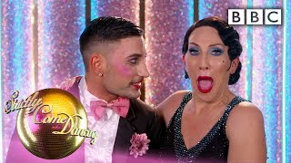 Dance couples and judges react to Saturday night! 💁♀️💁♂️ - Movie Week | BBC Strictly 2019