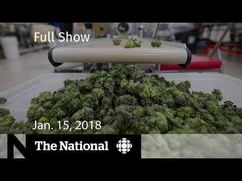 The National for January 15, 2018 - Bystander Dead, Marijuana, North Korea Summit