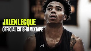 Jalen Lecque OFFICIAL Senior Season Mixtape - Baby Westbrook Was a Human Highlight Reel