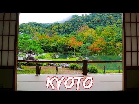 Tenryuji, Arashiyama, River Boat, Food, Kinkakuji, Ryoanji [56] Travel Vlog || Japan: Kyoto