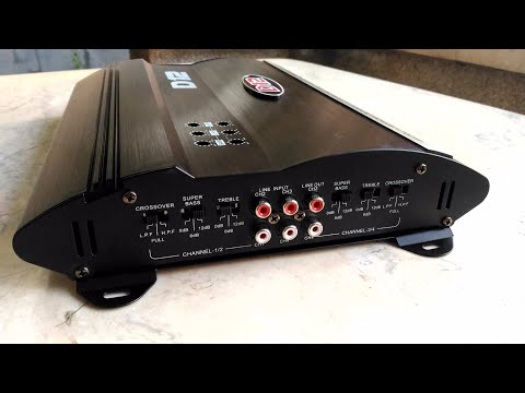 D12 V12 X12 MRV-F805 Car Amplifier Unboxing, Test and Review