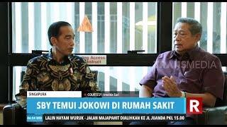 Presiden Jokowi Jenguk Ani Yudhoyono