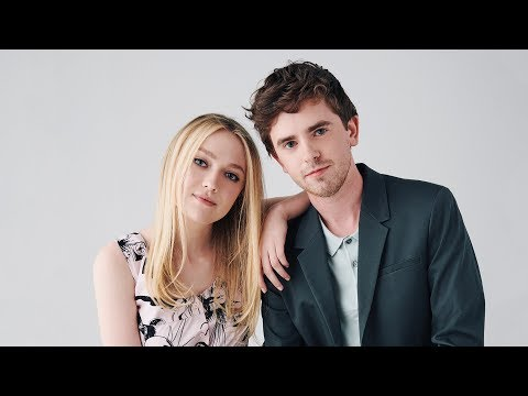 Dakota Fanning & Freddie Highmore - Full Conversation Actors on ...