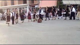 Πανηγύρι Τρανοβάλτου 2015 - Εμφάνιση παιδικής χορευτικής ομάδας