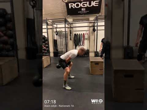 The Nationals 2019 - Wod 1A