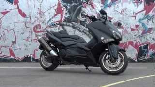 Yamaha T-MAX 530 Black Max ABS 2013 ESSAI MAXreportage.com