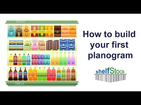 How to build a planogram with retail shelf planner youtube for For planner