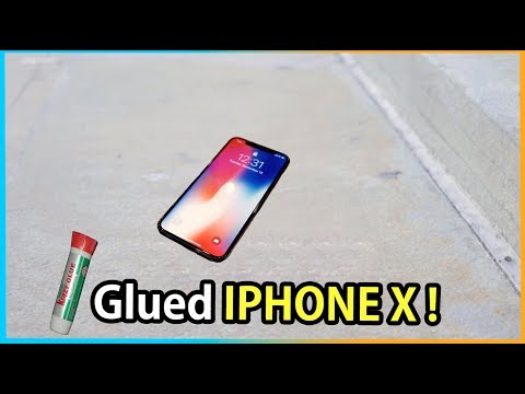 Download Youtube: New iPhone X GLUED To The Floor !!