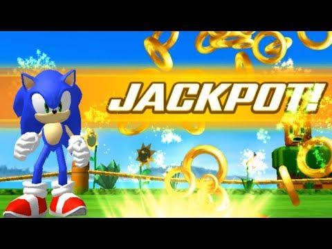 SEGA Slots (2017) JACKPOT on Sonic the Hedgehog / ANDROID / iPlaySEGA