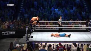 WWE 12 / The Rock vs John Cena Gameplay I HD