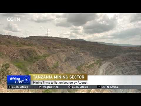 Tanzania Mining Sector: Mining Firms To List On Bourse By August