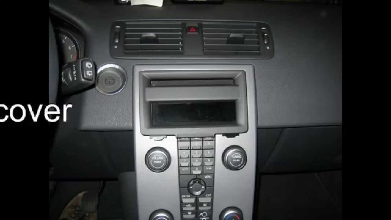 Radio Remove Volvo C30 Youtube