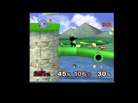 Action Replay - Super Smash Bros Melee