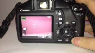 video Tutorial Canon 1100D