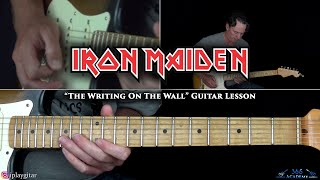 Iron Maiden - The Writing On The Wall Guitar Lesson