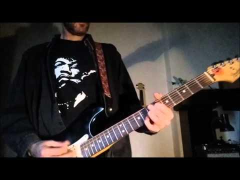 My New Jimi Hendrix Guitar Strap