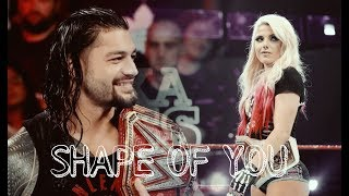 Download Roman Reigns & Alexa Bliss - Shape Of You Mp3