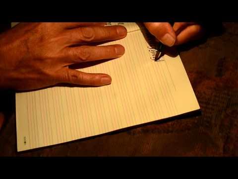 Lefty Calligraphy Doovi