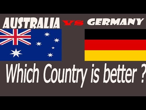Quality Of Living Comparison Between Germany And Australia