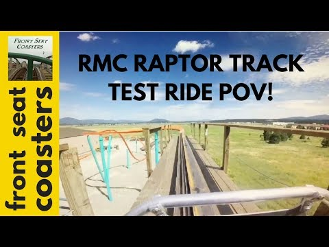 RMC Raptor Track On-Ride POV with Derek Deis of KXLY & Fred Grubb of Rocky Mountain Construction