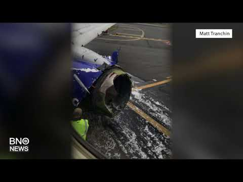 Southwest Airlines Plane Suffers Engine Explosion, Injuring Several People