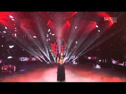 [sbs 인기가요] 박지윤 - 나무가 되는 꿈 662회 2012년03월04일 일요일
