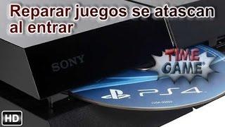 Reparar PS4 cuando el juego no entra o se atasca