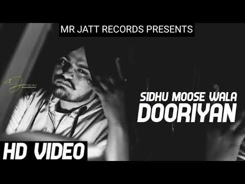 Dooriyan : Sidhu Moosewala (Official Song) Snappy - Mr Jatt Records - Latest Punjabi Songs 2018