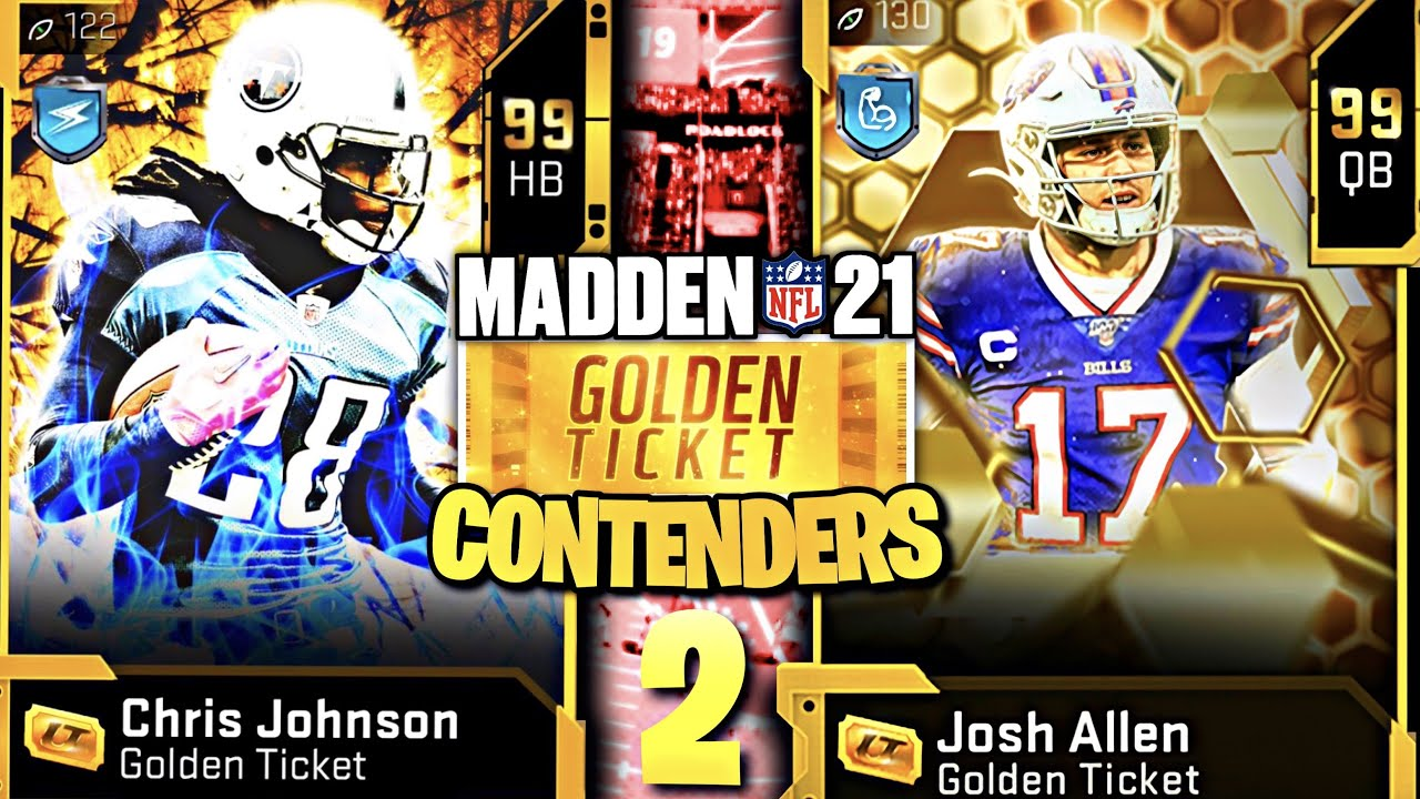 THE BEST *GOLDEN TICKET* CONTENDERS IN MADDEN 21 ULTIMATE TEAM!! EP. 02