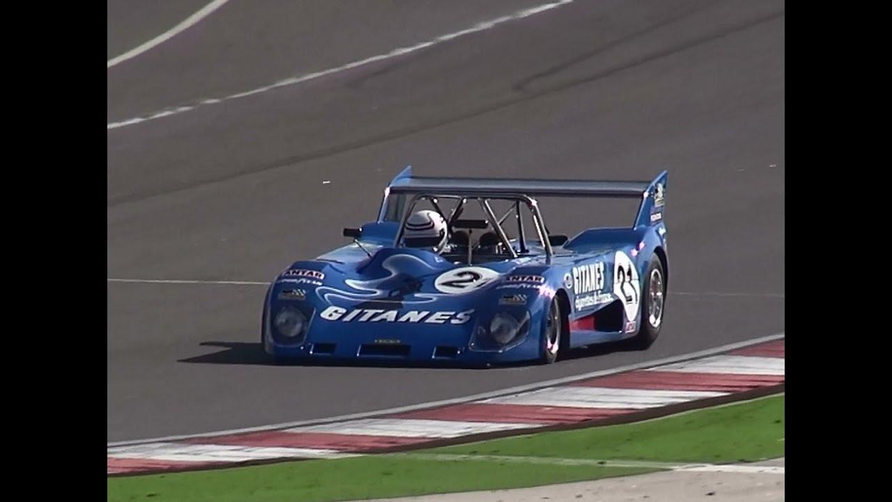 1972 Lola T280 Gitanes Cosworth V8 Sounds - YouTube