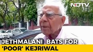 Fine, Won't Charge Arvind Kejriwal: Ram Jethmalani After 3.8 Crore Bill