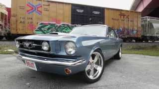 1965 Mustang 347 Stroker Test Drive.