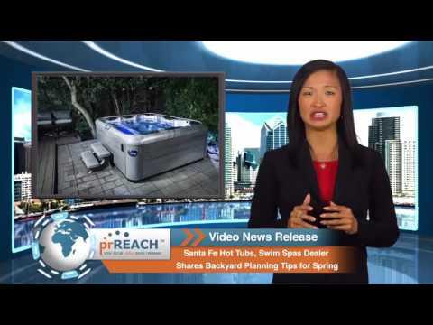 Santa Fe Hot Tubs, Swim Spas, Backyard Planning Guide