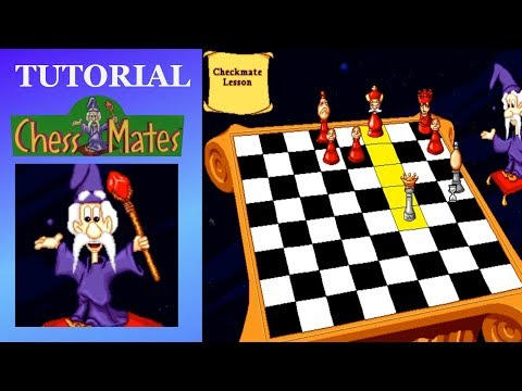Chess Mates (PC, 1996) - All Lessons / Learn Mode