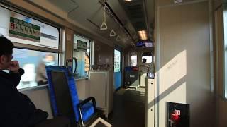 四日市あすなろう鉄道 内部線 内部~小古曽 車窓と車内 Yokkaichi Asunarou Railway Utsube Line, from Utsube to Ogoso (2019.2)