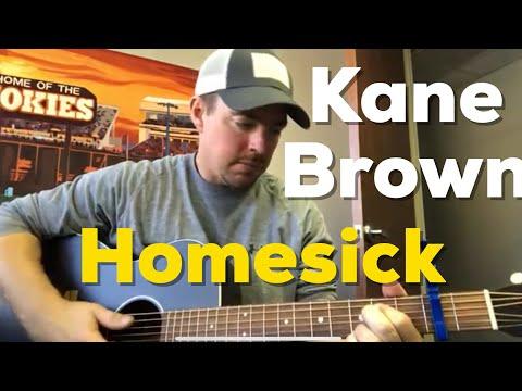 Homesick | Kane Brown | Beginner Guitar Lesson