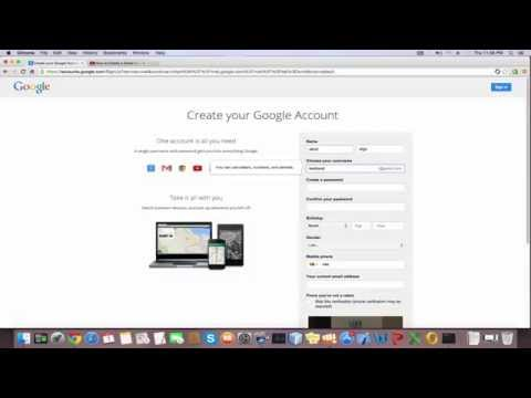 How to create a Gmail account 2015 | How To Make A Gmail 2015