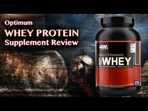 Optimum Whey Protein Supplement Review