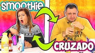 Smoothie CRUZADO challenge | Retos de COMIDA | Food challenge TOMA YA !!