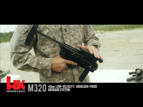 H&K M320 Grenade Launcher - Awesome Slow Motion Footage!