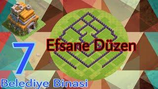 Belediye Binası 7 Kupa Düzeni | Clash Of Clans