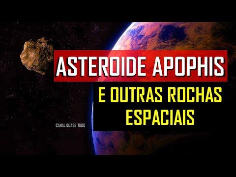 🔴 APOPHIS ENTRE OUTROS ASTEROIDES, A TERRA AMEAÇADA?