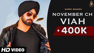 November Ch Viah (Harry Dhanoa) Mp3 Song Download