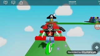 We play Roblox (we finished obby on the map with Brawl stars)
